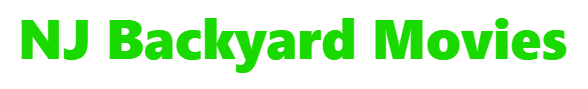 New Jersey Backyard Movies Logo
